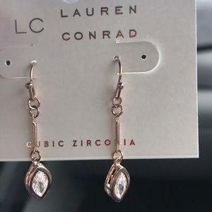 Lauren Conrad dangling cubic zirconia earrings